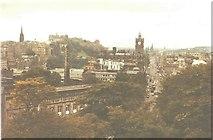 NT2674 : Princes Street from Calton Hill, Edinburgh in 1984 by John Baker