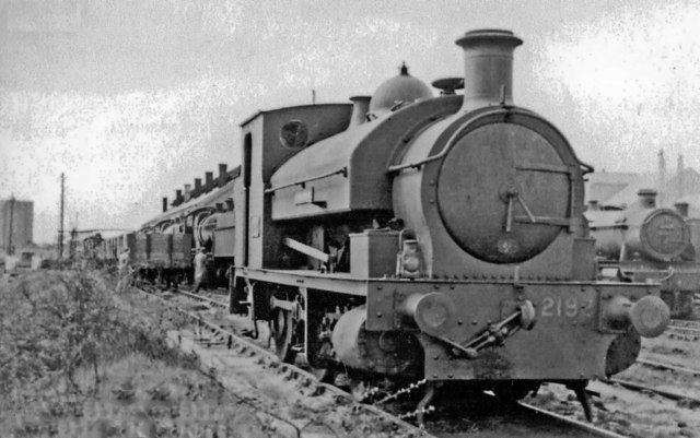 An unusual engine at Severn Tunnel Junction Locomotive Depot
