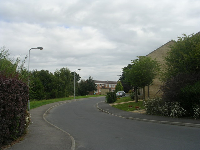 Northlea Avenue - viewed from Little Cote