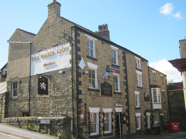 The White Lion in Holker Road Buxton