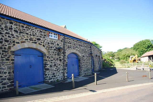 Fishing sheds, Craster