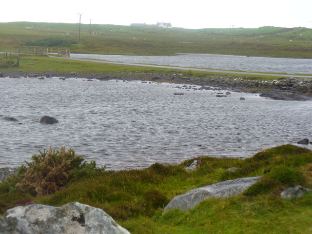 Causeway on Loch Druidibeg