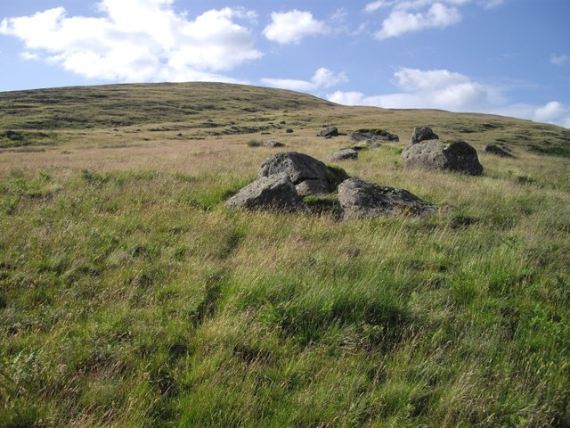 Ben Clach hillside