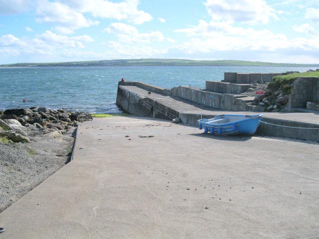 Dwarwick pier and slipway