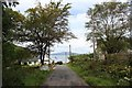 NR7894 : The road into Crinlan Harbour by Bob Embleton