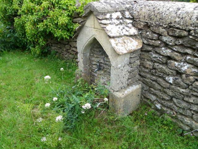 Churchyard tap, Corston