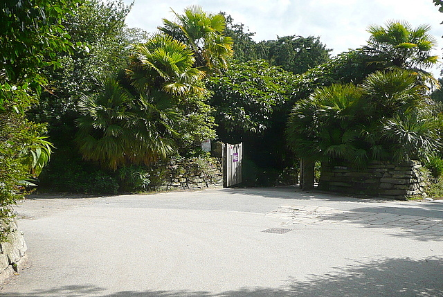 Entrance to Trebah Gardens