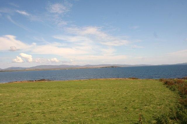 Grassland by Port Mor