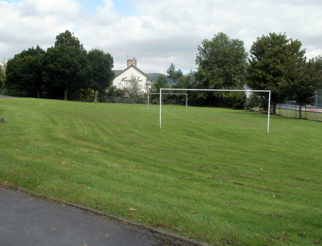Football pitch, Penycae Primary School