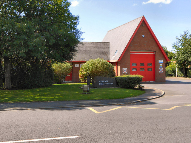 Wesham Fire Station, Fleetwood Road
