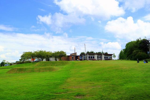 Muckhart Golf Clubhouse.