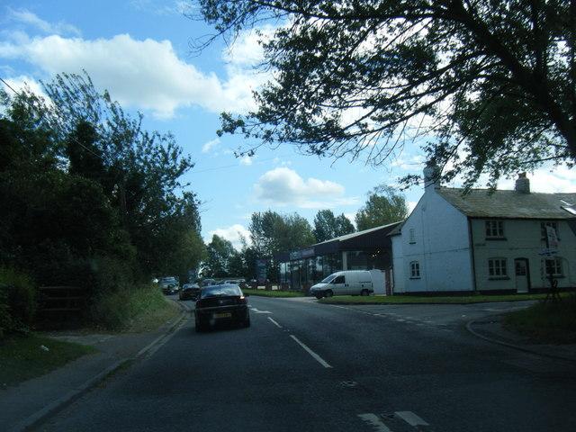 Chelford Road at School Lane junction