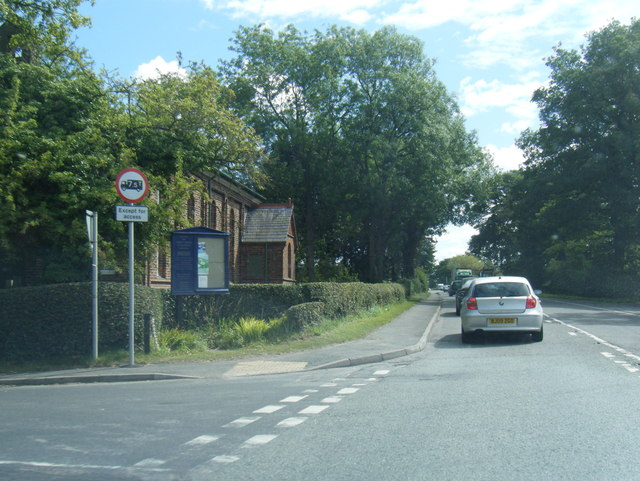 Chelford Road at Marthall