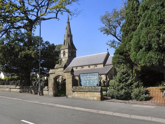 St John the Evangelist, The Willows, Kirkham