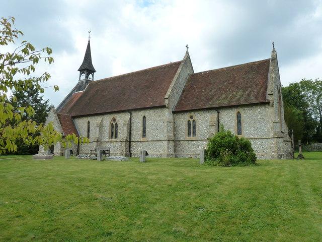 St Peter & Paul, Shalden: August 2011