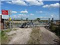SK7988 : Marsh Lane level crossing by Richard Croft