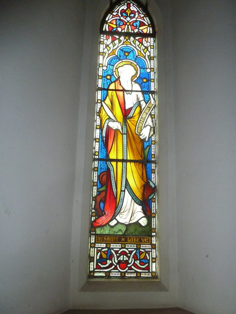 St Peter & Paul, Shalden: stained glass windows (IV)