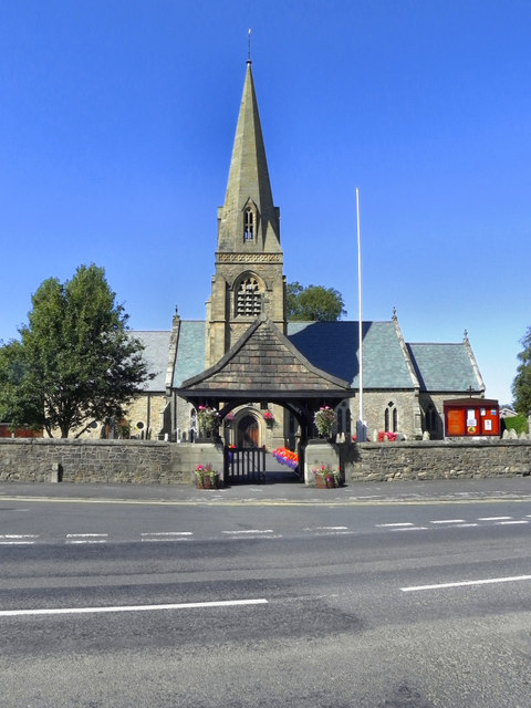 St Nicholas' Church and Lych Gate, Wrea Green
