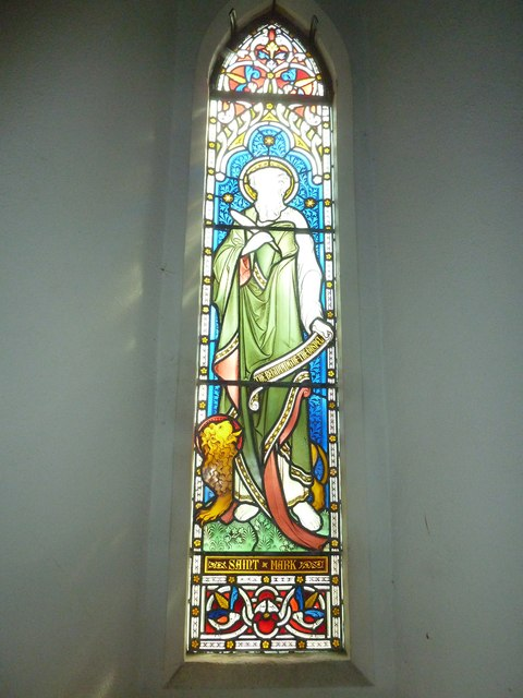 St Peter & Paul, Shalden: stained glass windows (VII)