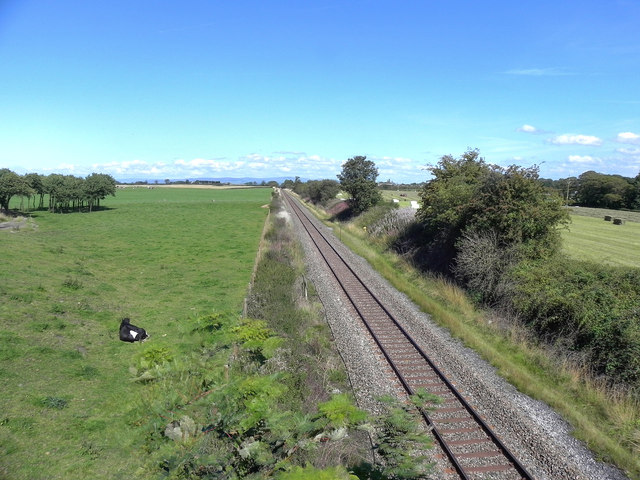 The Railway at Wrea Green