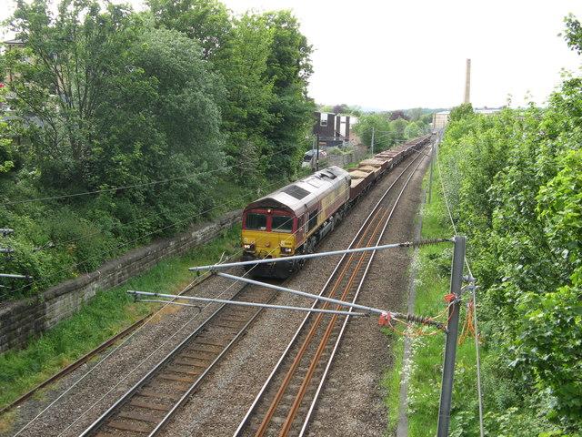 Ballast Train at Shipley