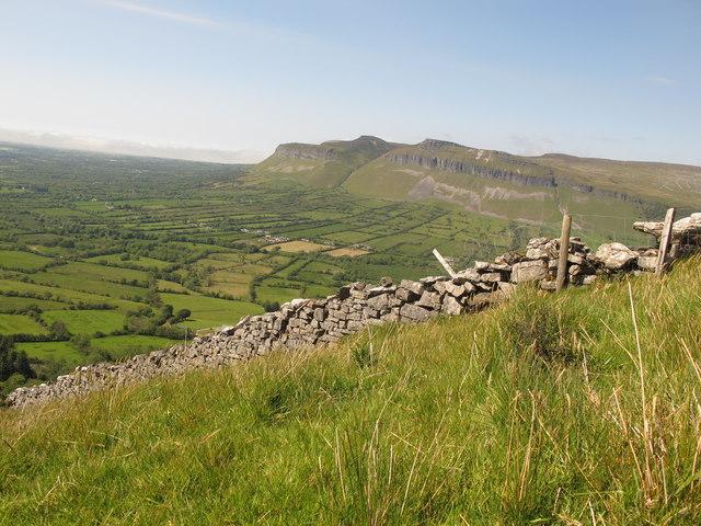 Sligo: Copes Mountain. Boundary Wall and Fence