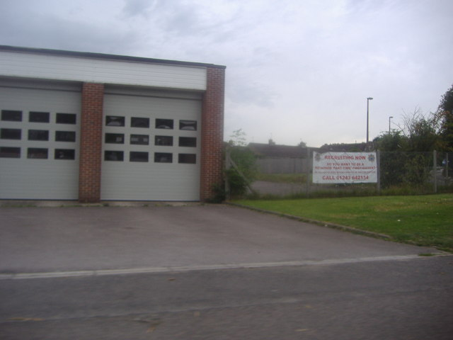 Garages at Midhurst fire station