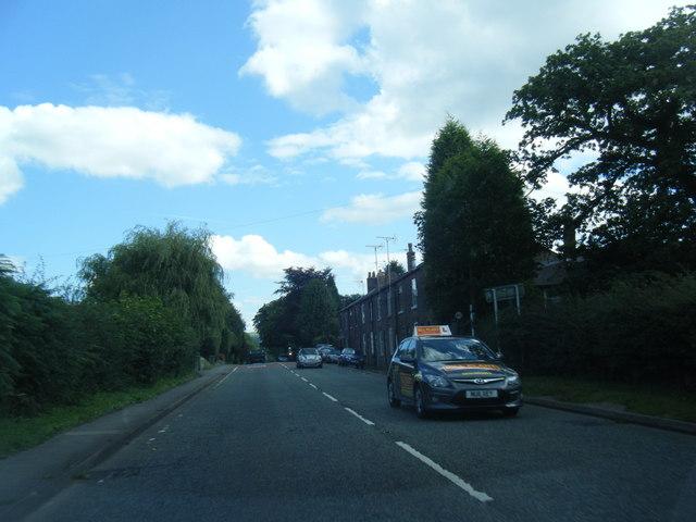 Chelford Road east of Henbury