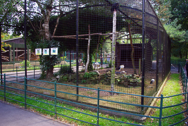 Aviary at Birmingham Nature Centre