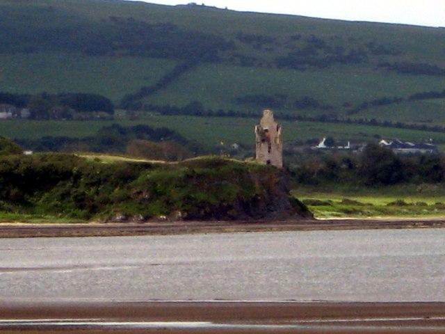 Greenan Castle from Low Green