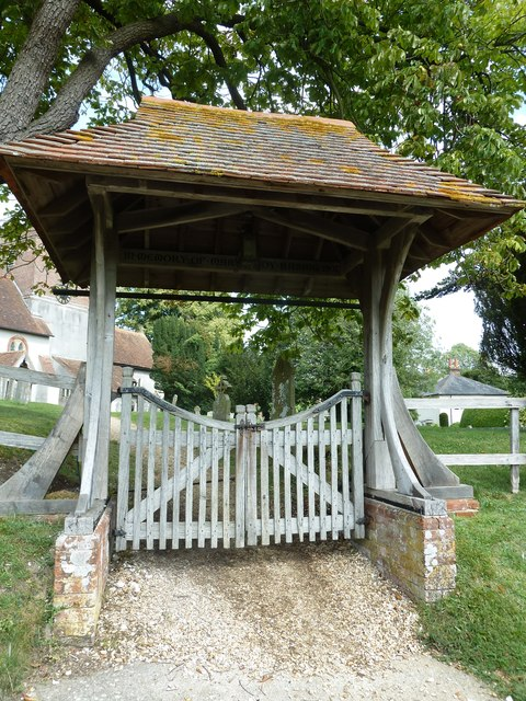 Saint Mary's, Upton Grey: lych gate