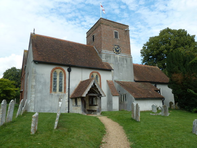 Saint Mary's, Upton Grey in August 2011