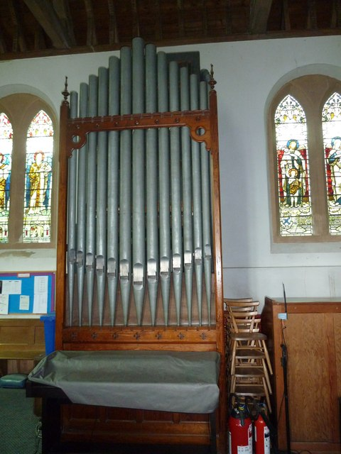 Saint Mary's, Upton Grey: organ