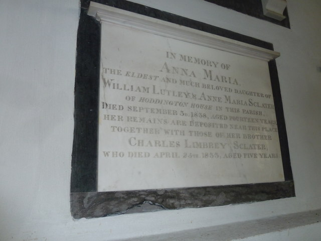 Saint Mary's, Upton Grey: memorial (6)