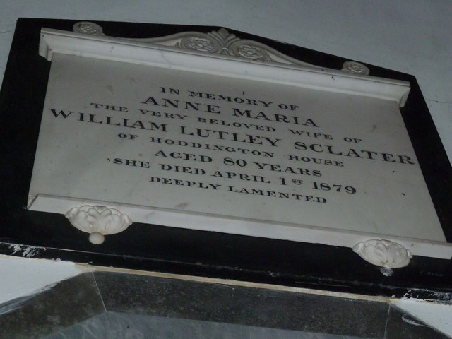 Saint Mary's, Upton Grey: memorial (7)