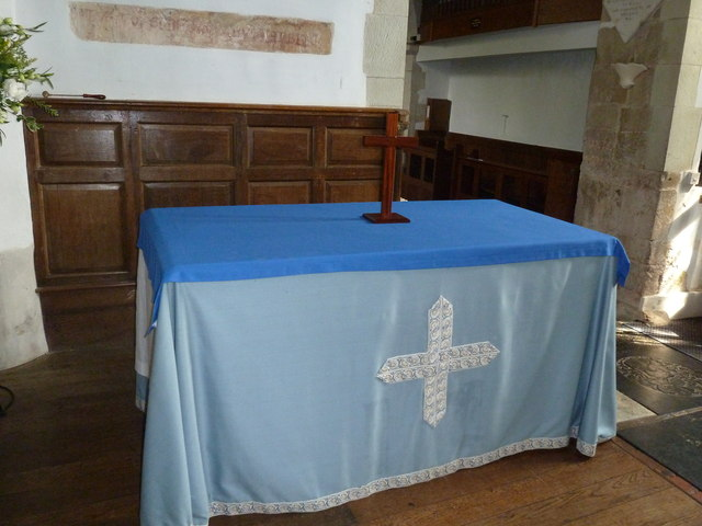 Saint Mary's, Upton Grey: side altar