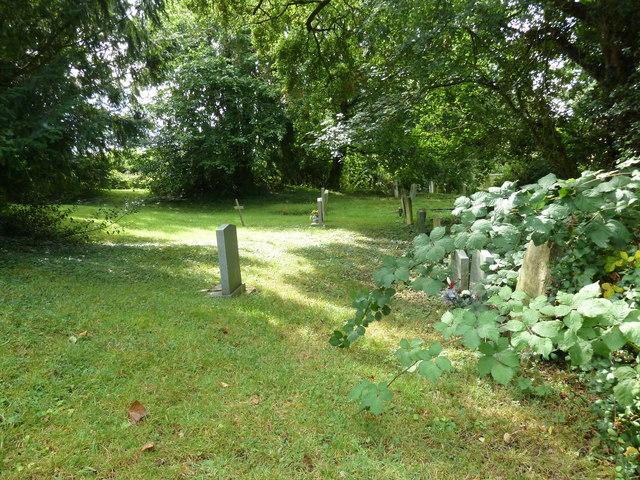 Up Nately Churchyard (1)