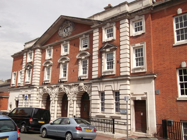 Woolwich Town Hall, Side Entrance