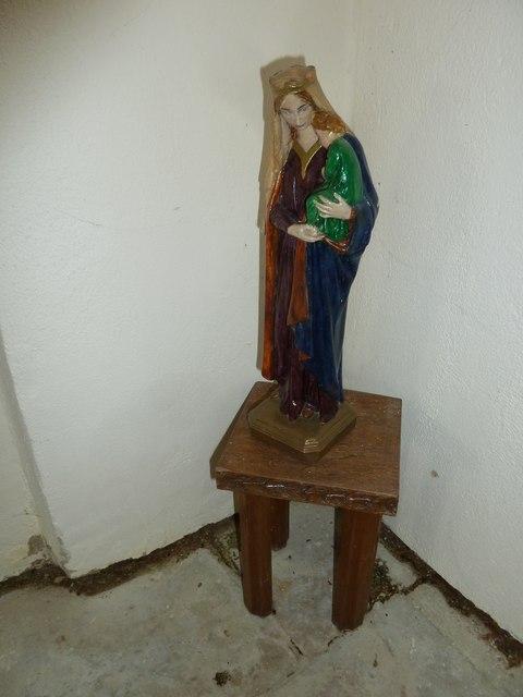 Up Nately- St Stephen's: Madonna & Child