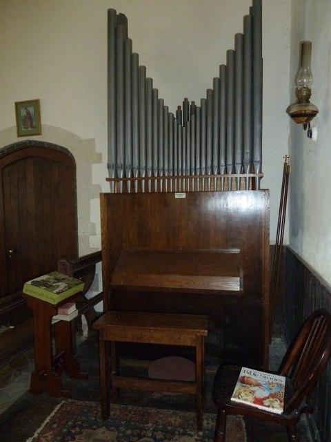 Up Nately- St Stephen's: organ