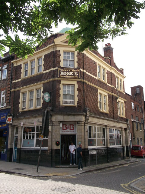 Rose's Public House, Woolwich