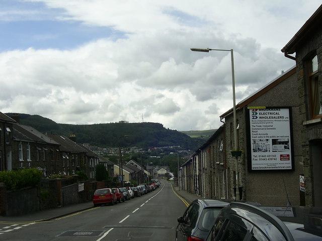 Tylacelyn Road near Penygraig