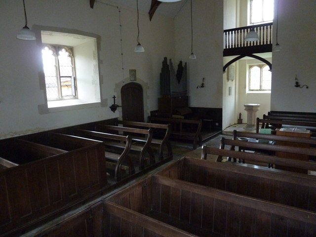 Up Nately- St Stephen's: view from the pulpit