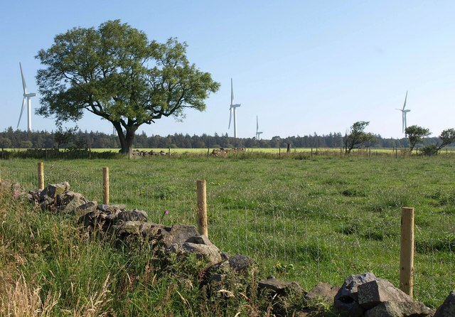 Towards Knabs Ridge Wind Farm