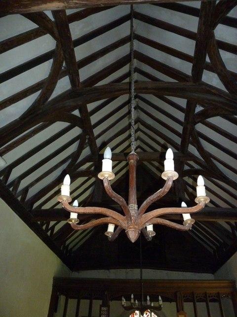 Greywell: Church of St. Mary the Virgin- chandelier