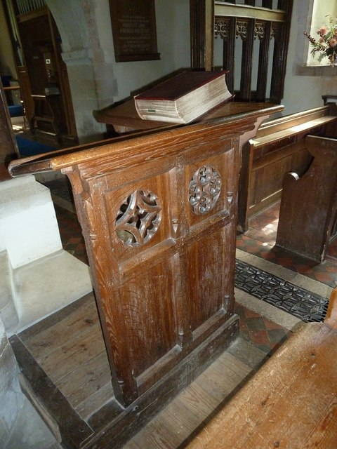 Greywell: Church of St. Mary the Virgin- lectern