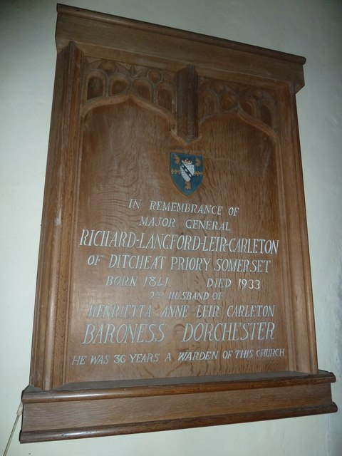 Greywell: Church of St. Mary the Virgin- memorial (c)