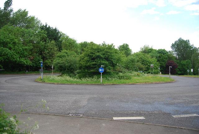 Roundabout, A283
