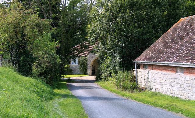 2011 : Church Lane, Sherrington