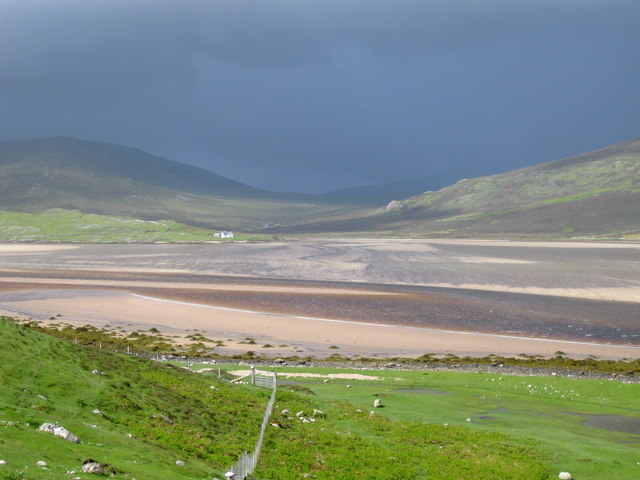 Approaching storm over the Kyle of Durness